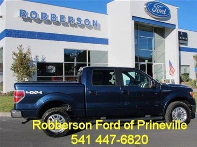 Photo Used 2013 Ford F-150 XL 4x4 SuperCrew Cab Styleside 6.5 ft. box 157 in. Crew Cab Short Bed Truck For Sale Bend, OR