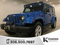 Certified Pre-Owned 2015 Jeep Wrangler Unlimited Sahara | Heated Seats | Navigation 4WD Convertible