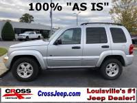 PRE-OWNED 2003 JEEP LIBERTY LIMITED 4WD