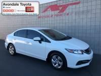 Pre-Owned 2015 Honda Civic LX Sedan Front-wheel Drive in Avondale, AZ