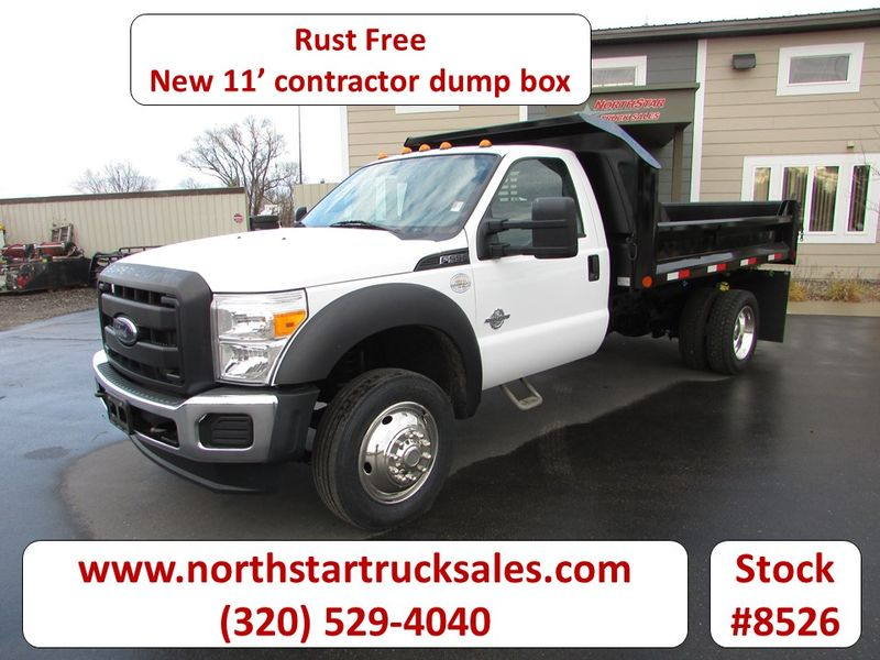 Photo Used 2014 Ford F-550 Dump Truck