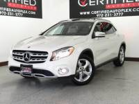 2018 Mercedes-Benz GLA 4MATIC NAVIGATION PANORAMIC ROOF REAR CAMERA POWER LEATHER SEATS