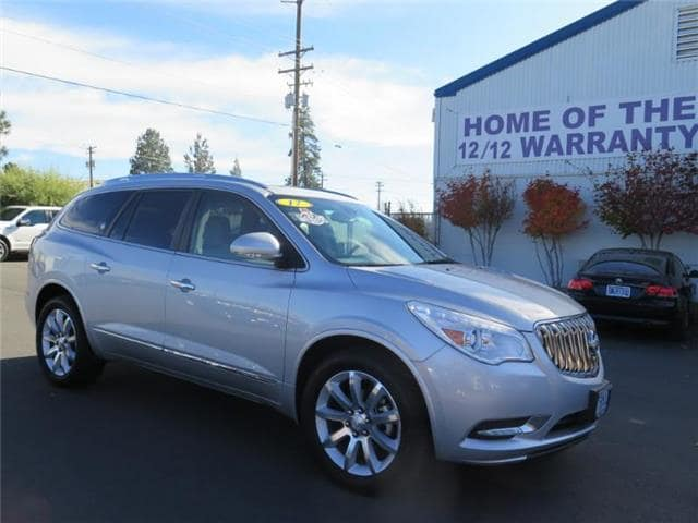 Photo Used 2017 Buick Enclave Premium All-wheel Drive SUV For Sale Bend, OR