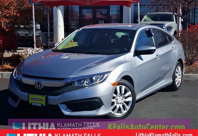 Photo Used 2016 Honda Civic LX Sedan Front-wheel Drive in Klamath Falls