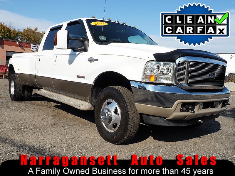 Photo 2003 Ford F-350 SD Crew Cab 4X4 Diesel Dually King Ranch No Rust