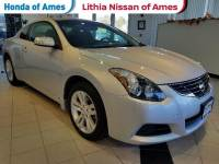 Used 2012 Nissan Altima 2dr Cpe I4 CVT 2.5 S in Ames, IA