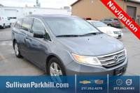 Pre-Owned 2011 Honda Odyssey Touring FWD 4D Passenger Van 96587 miles