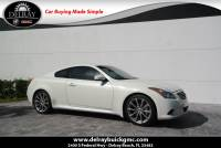 Pre-Owned 2008 INFINITI G37 Coupe Sport RWD 2dr Car
