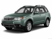 2013 Subaru Forester 2.5X Manual