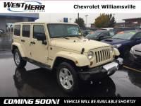 2012 Jeep Wrangler Unlimited Unlimited Sahara SUV