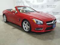 Certified Pre-Owned 2014 Mercedes-Benz SL 550 Roadster