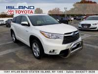 Certified Pre-Owned 2015 Toyota Highlander Hybrid Limited LOW MILES LOADED HYBRID All Wheel Drive SUV
