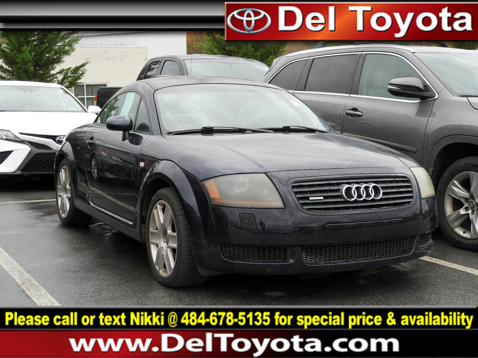 Photo Used 2002 Audi TT For Sale  Serving Thorndale, West Chester, Thorndale, Coatesville, PA  VIN TRUWT28N521020843