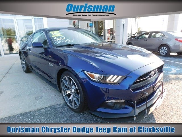 Photo Used 2015 Ford Mustang GT 50 Years Limited Edition Coupe in Bowie, MD