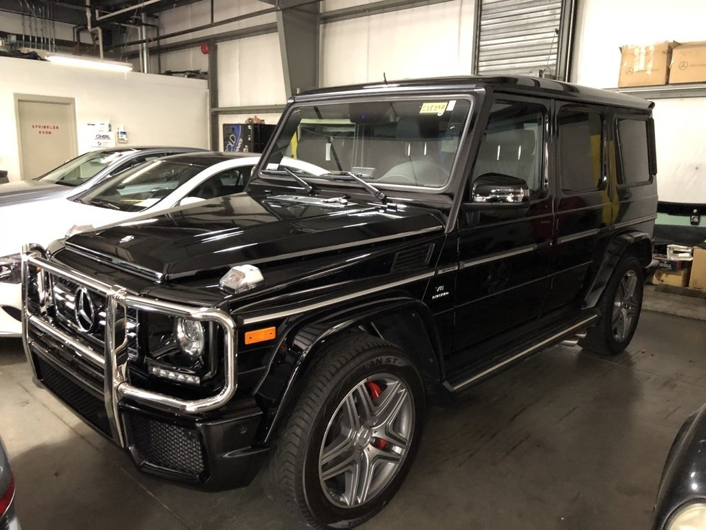 Photo Pre-Owned 2016 Mercedes-Benz G 63 AMG 4MATIC SUV G-Class