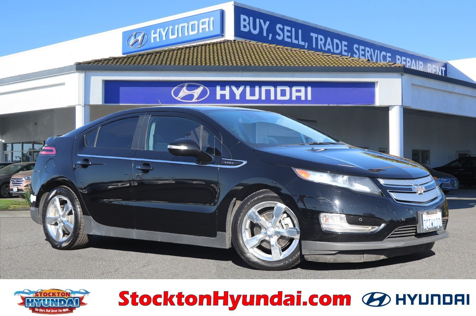Photo Used 2014 Chevrolet Volt Base Hatchback For Sale Stockton, California