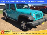 2008 Jeep Wrangler Unlimited X SUV V-6 cyl