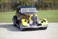 1934 Plymouth Hot Rod / Street Rod -CUSTOM PAINT-SLICK STREET HOT ROD-VINTAGE AIR-