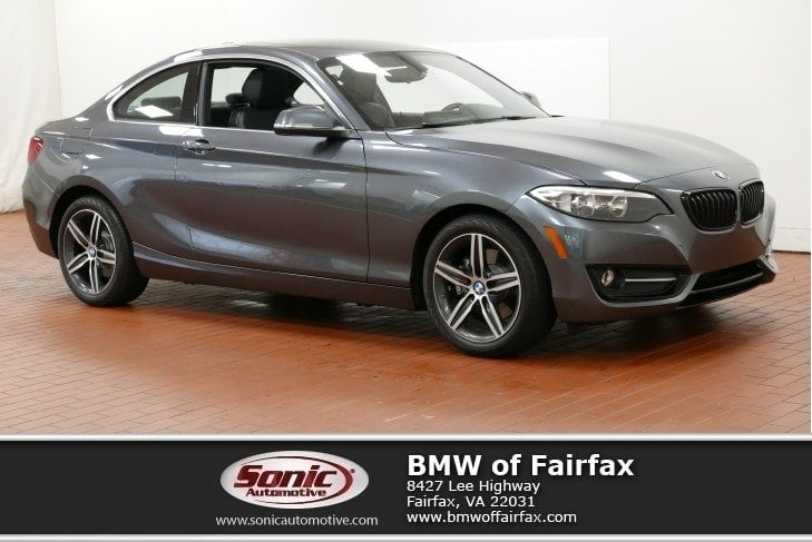 Photo Certified Used 2017 BMW 230i Coupe in Fairfax, VA