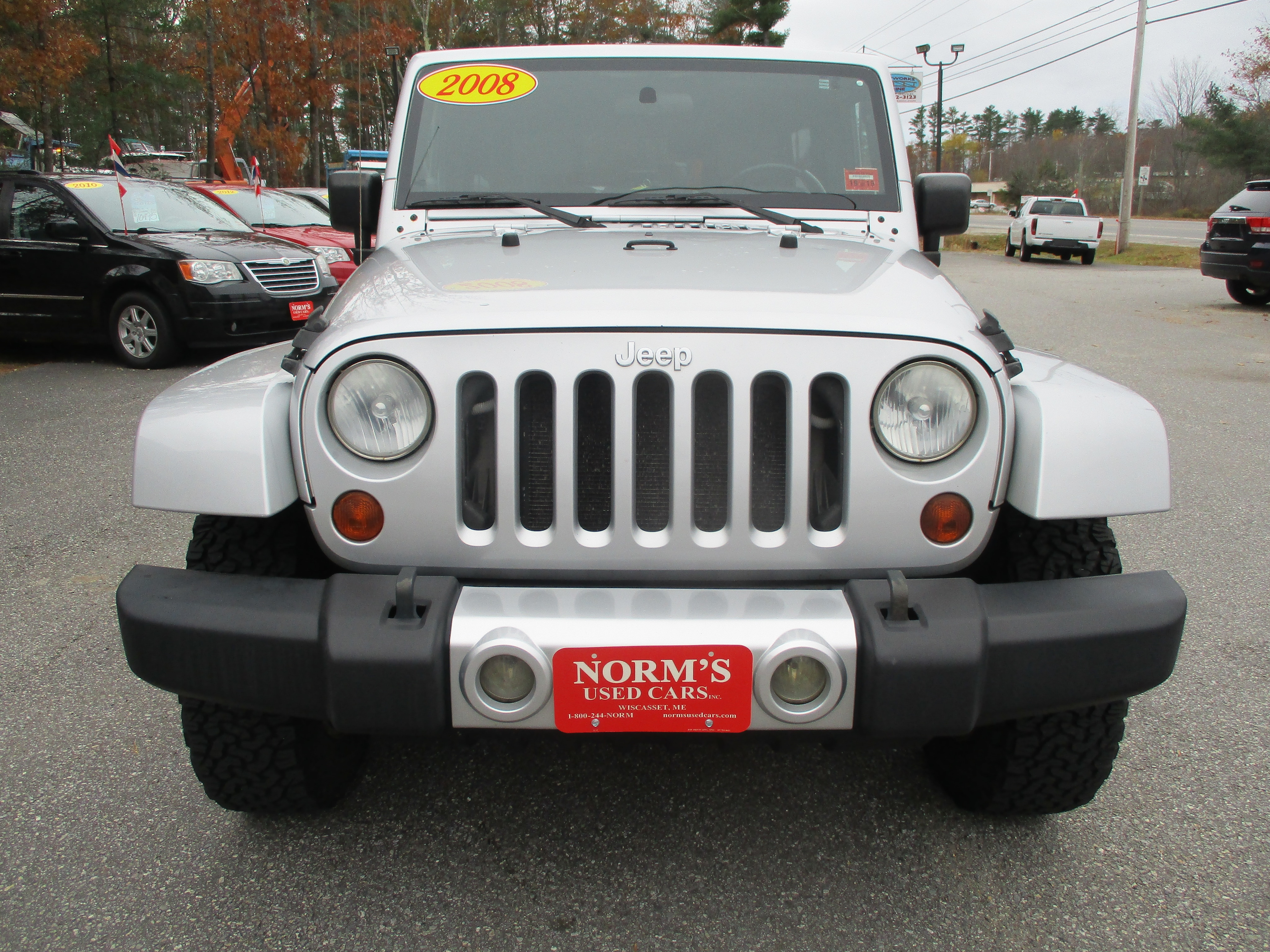 Photo Used 2008 Jeep Wrangler For Sale  Wiscasset ME