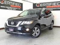 2018 Nissan Pathfinder SV REAR CAMERA REAR PARKING AID 3RD ROW SEAT REAR AIR CONDITIONING