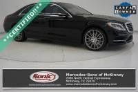 2017 Mercedes-Benz S-Class S 550 Sedan in McKinney