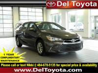 Certified Pre-Owned 2016 Toyota Camry For Sale in Thorndale, PA | Near Malvern, Coatesville, West Chester & Downingtown, PA | VIN:4T1BF1FK0GU151103
