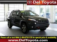 Used 2017 Jeep Cherokee Trailhawk For Sale in Thorndale, PA   Near West Chester, Malvern, Coatesville, & Downingtown, PA   VIN: 1C4PJMBS4HW632879