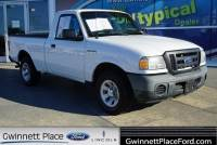 Used 2010 Ford Ranger Truck Regular Cab I-4 cyl For Sale in Duluth