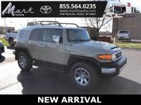 Certified Pre-Owned 2014 Toyota FJ Cruiser 4X4 V6 w/Upgrade Package, Convenience Package & Tr SUV in Plover, WI