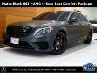 Certified Pre-Owned 2016 Mercedes-Benz S-Class AMG® S 63 Long Wheelbase 4MATIC® AWD