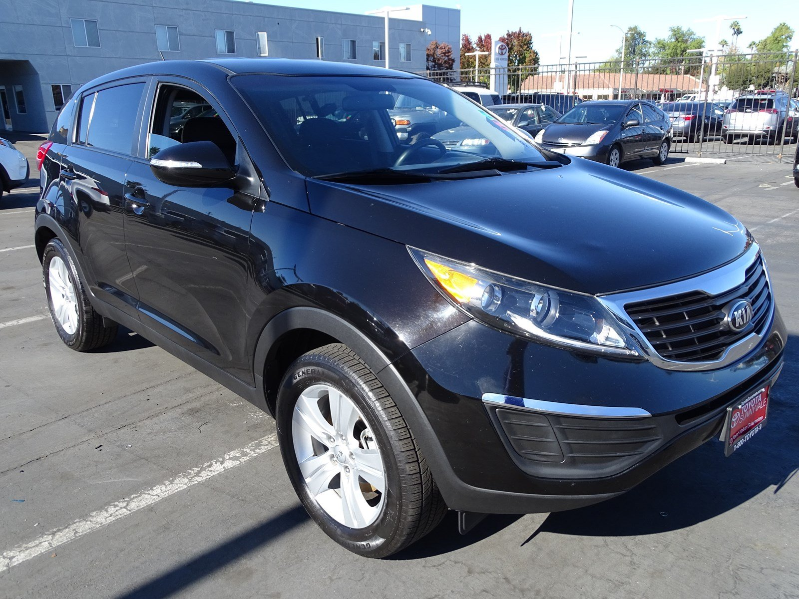 Photo Used 2013 Kia Sportage LX For Sale in Sunnyvale, CA