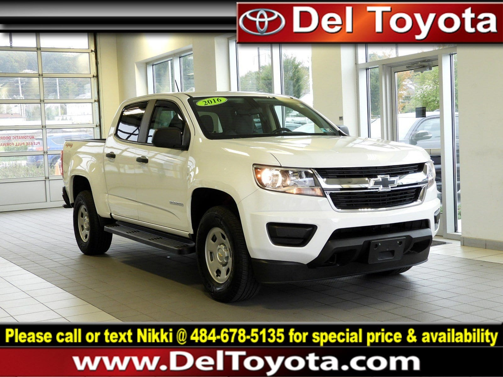 Photo Used 2016 Chevrolet Colorado 4WD WT For Sale in Thorndale, PA  Near West Chester, Malvern, Coatesville,  Downingtown, PA  VIN 1GCGTBE31G1161143