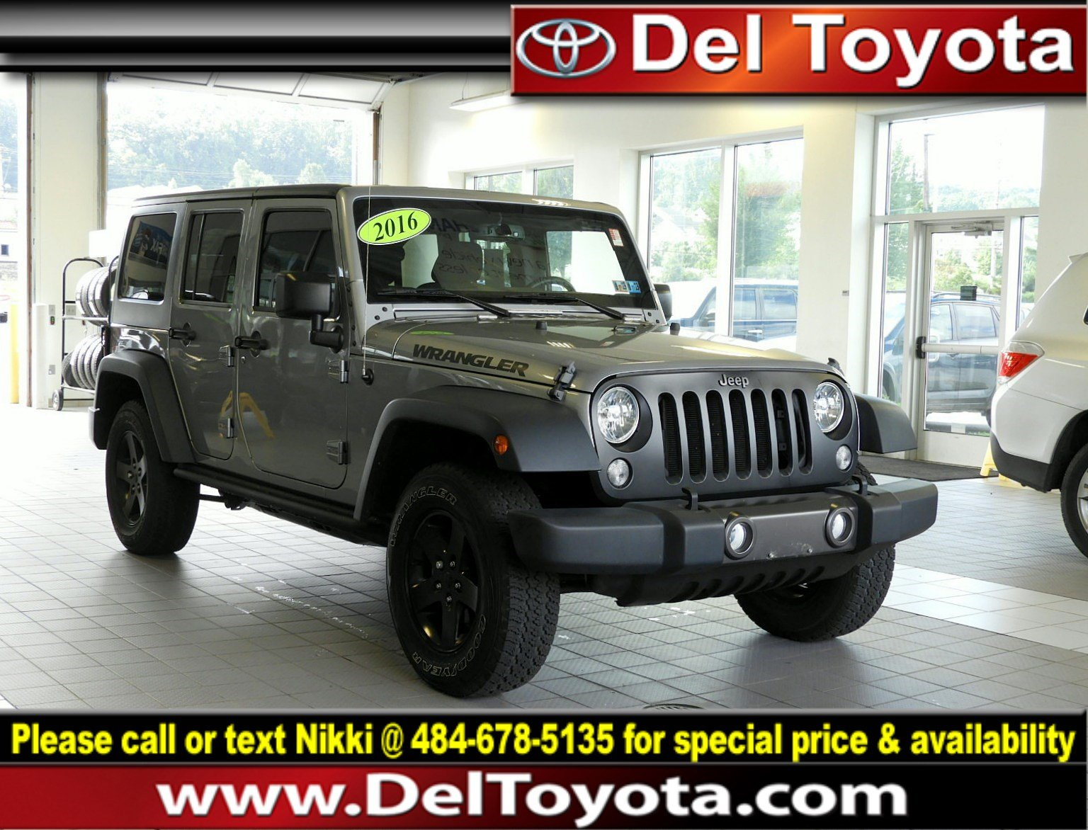 Photo Used 2016 Jeep Wrangler Unlimited Black Bear For Sale in Thorndale, PA  Near West Chester, Malvern, Coatesville,  Downingtown, PA  VIN 1C4BJWDG0GL130434