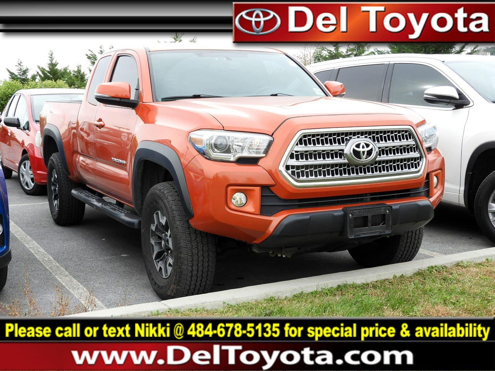 Photo Used 2016 Toyota Tacoma TRD Off Road For Sale in Thorndale, PA  Near West Chester, Malvern, Coatesville,  Downingtown, PA  VIN 5TFSZ5AN9GX011151