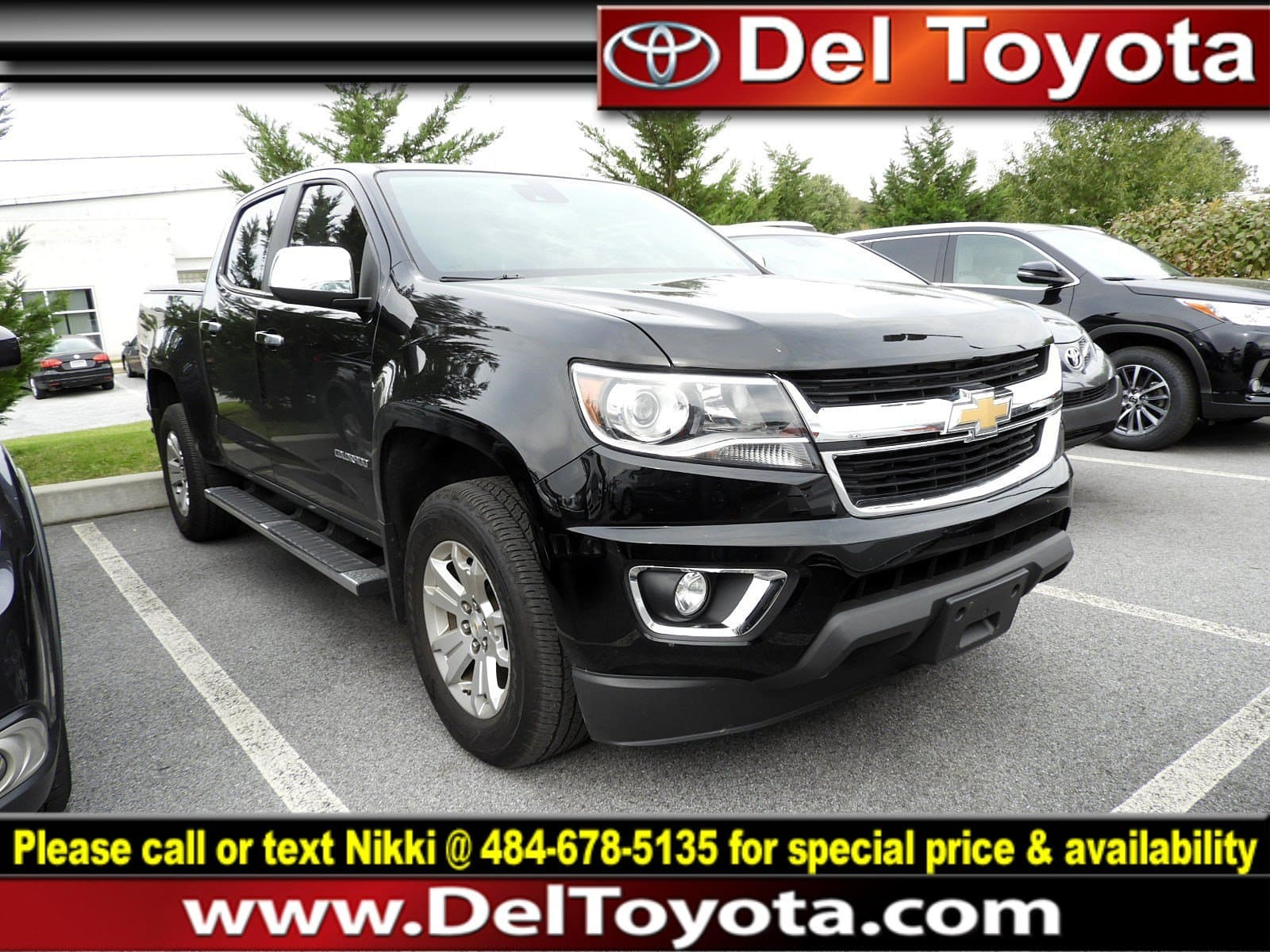 Photo Used 2016 Chevrolet Colorado 4WD LT For Sale in Thorndale, PA  Near West Chester, Malvern, Coatesville,  Downingtown, PA  VIN 1GCGTCE31G1115110