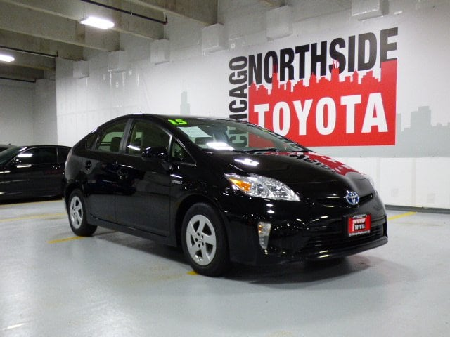 Photo Used 2015 Toyota Prius Three For Sale Chicago, IL