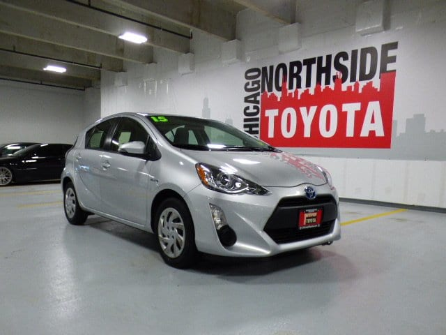 Photo Used 2015 Toyota Prius c One For Sale Chicago, IL