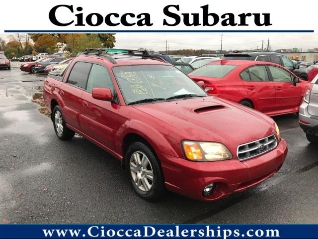 Photo Used 2005 Subaru Baja Turbo with Leather Pkg For Sale in Allentown, PA