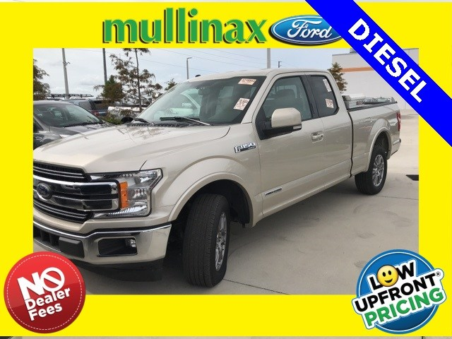 Photo Used 2018 Ford F-150 Lariat Turbo Diesel W Navigation, Center Console Truck SuperCab Styleside V-6 cyl in Kissimmee, FL