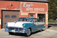 1956 Ford Crown Victoria - FAIRLANE - RESTORED GROUND UP - CONTINENTAL KIT W/ DUAL SPOTLIGHTS - SEE