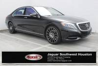 Used 2015 Mercedes-Benz S-Class S 550 4dr Sdn 4matic in Houston