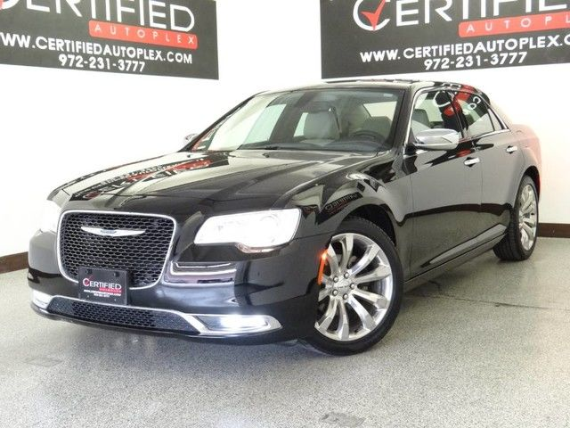 Photo 2018 Chrysler 300 LIMITED REAR CAMERA HEATED COOLED LEATHER SEATS APPLE CARPLAY AN