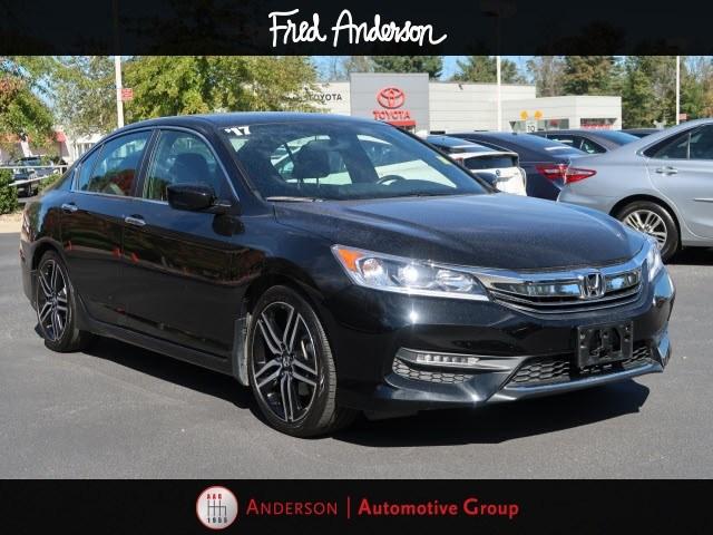 Photo Pre-Owned 2017 Honda Accord Sport Sedan For Sale  Raleigh NC