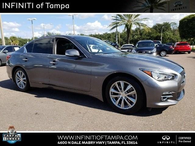 Photo Certified 2014 INFINITI Q50 Premium Sedan in Jacksonville FL