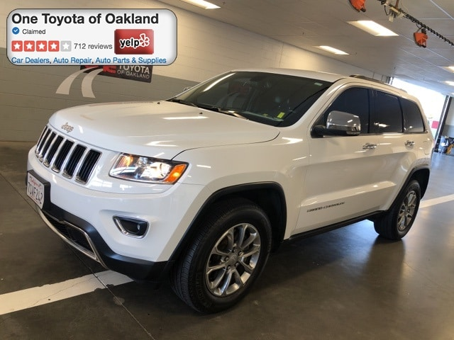 Photo Pre-Owned 2015 Jeep Grand Cherokee Limited SUV in Oakland, CA