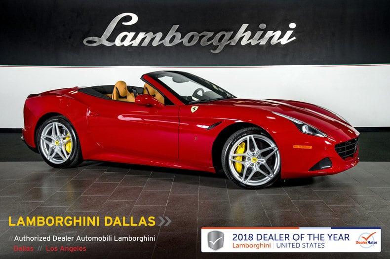 Photo Used 2017 Ferrari California T For Sale Richardson,TX  Stock L1141 VIN ZFF77XJA6H0226485