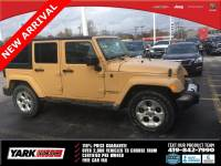 Used 2013 Jeep Wrangler Unlimited Sahara SUV in Toledo