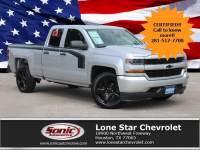 2017 Chevrolet Silverado 1500 Custom 2WD Double Cab 143.5 Truck Double Cab in Houston