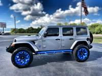 Used 2018 Jeep All-New Wrangler Unlimited JL CUSTOM LIFTED SAHARA LEATHER HARDTOP